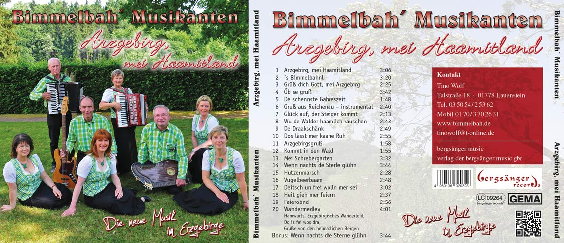 CD Arzgebirg, mei Haamitland