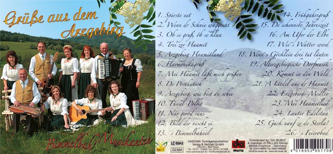 CD Grüße aus dem Arzgebirg