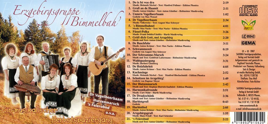 CD Ein musikalischer Herbstspaziergang