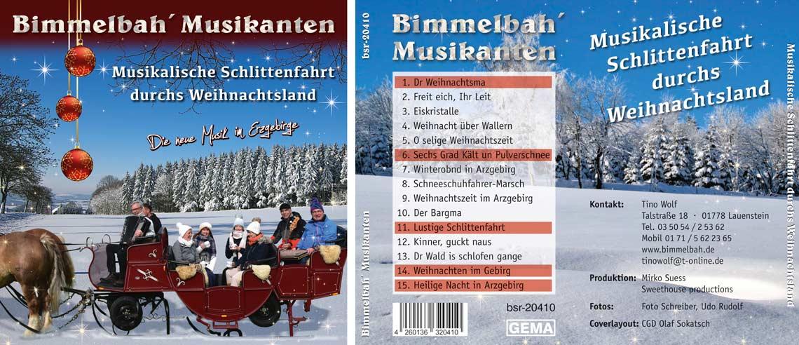 CD Musikalische Schlittenfahrt
