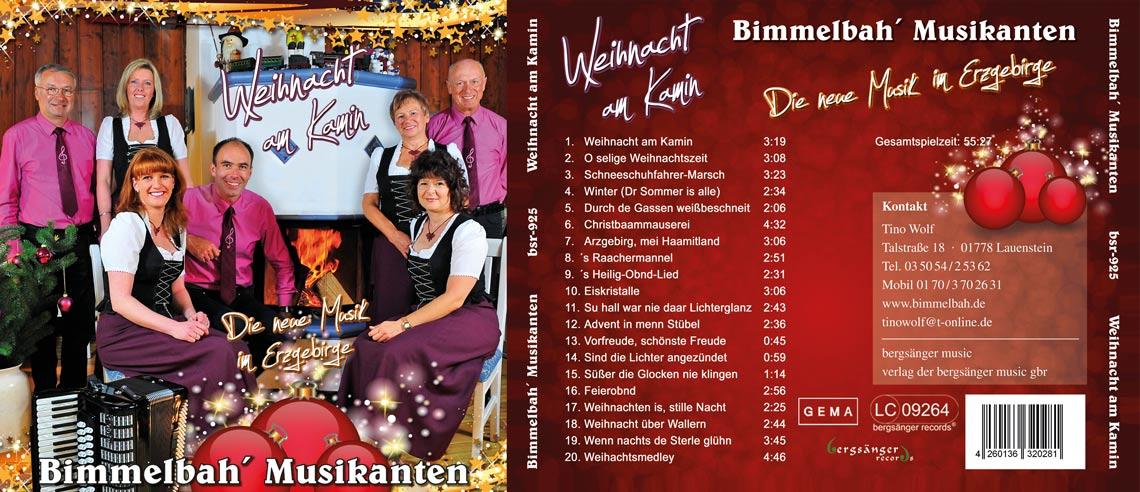 CD Weihnacht am Kamin