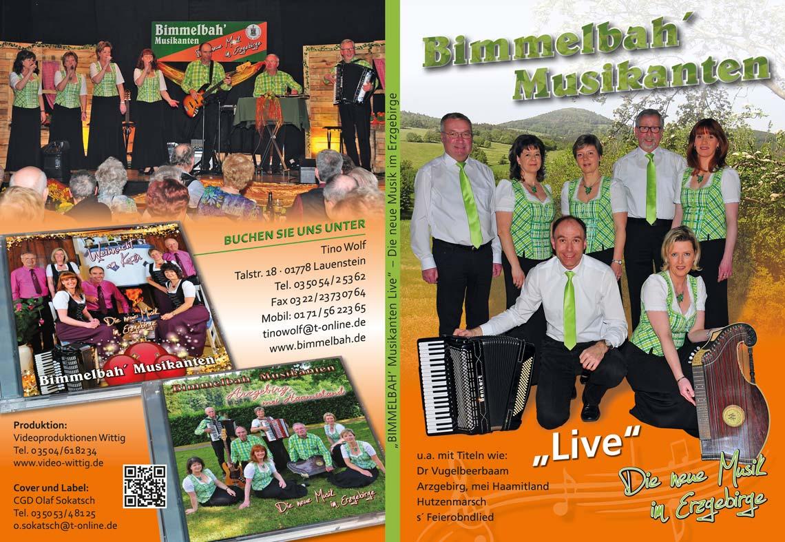 DVD Bimmelbah Musikanten Live